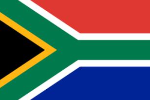 Bandeira da Africa do Sul